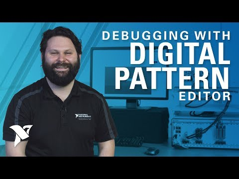 Debugging with the Digital Pattern Editor and PXI Digital Pattern Instrument