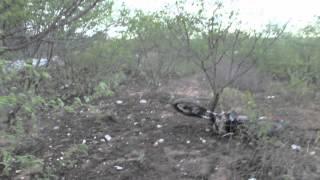 Acidente entre caminhão, moto e carro da Chesf mata morador de Delmiro Gouveia na BR-423