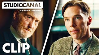 THE IMITATION GAME - Clip #1 - Alan Turing Interview at Bletchley Park