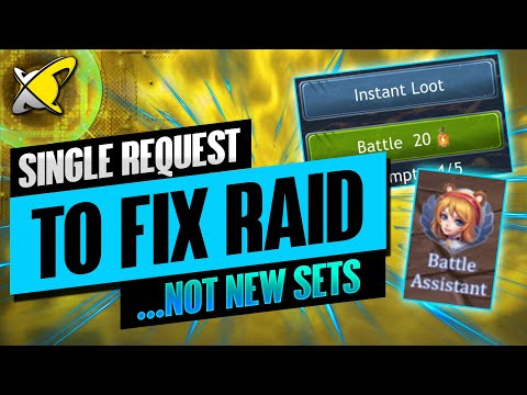 MY SINGLE REQUEST... TO FIX THIS GAME | Dragon Champions & Summoners Glory VS RAID: Shadow Legends