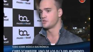 CHRIS SCHWEIZER Entrevista/ Interview - Music on Boat