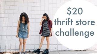 $20 Thrift Store Challenge