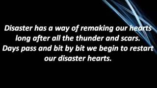 I fight Dragons - Disaster hearts (lyrics)