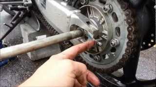 Cbr 600 F4i Rear Wheel Replacement