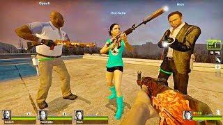 Left 4 Dead 2 - Fort Noesis Custom Campaign Gameplay Walkthrough