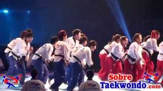 Sexy dancing at the 2013 World Taekwondo opening ceremony (Part 4)