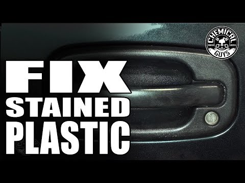 How To Restore Gray Plastic Trim – Chemical Guys Car Care