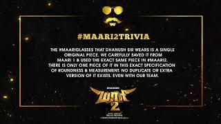 Maari 2 - Trivia #1 | Dhanush | Balaji Mohan | Yuvan Shankar Raja | Wunderbar Films