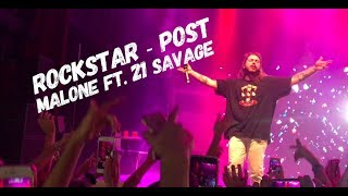 Post Malone - Rockstar ft 21 Savage LIVE @Filmore