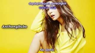 Ailee (에일리) – Letting Go (Feat. Amber) [Sub Español / Hangul / Roman]