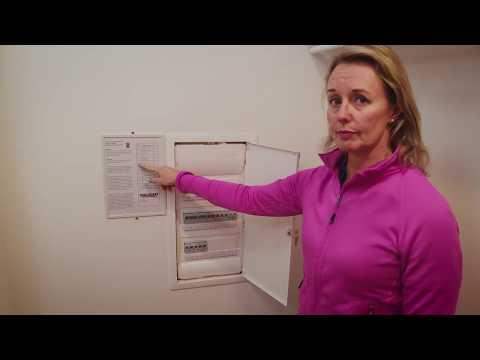 Genomgång av elinstallationer och media i din lägenhet