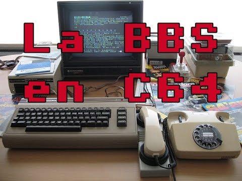 La BBS en Commodore 64