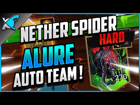 """""""ALURE AUTO TEAM"""" Agreth The Nether Spider on HARD (60)!! 