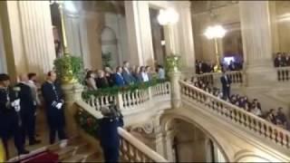 Cuca Roseta canta para os Reis de Espanha