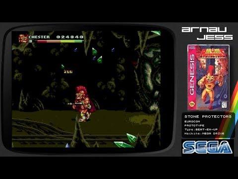 STONE PROTECTORS Sega Mega Drive by Eurocom