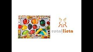Rotaļu augļi un dārzeņi - Fruit cut