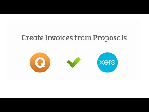Quote Roller and Xero Integration Video