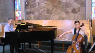 Ave Maria - Bach Gounod - Cello and Piano