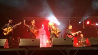 André Reyes (Gipsy Royale) - La Negra Arles Concert 2015