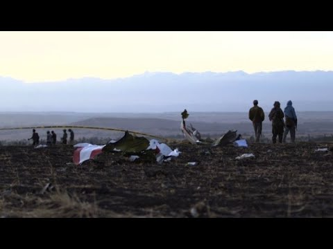 Search operation underway at Ethiopia plane crash site