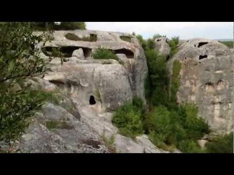 Eski-Kermen Cave Town (6th cen-1399), Crimea. Пещерный город Эски-Кермен