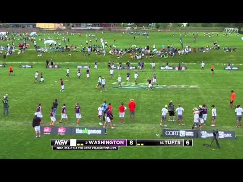 Video Thumbnail: 2012 College Championships, Women's Semifinal: Washington vs. Tufts