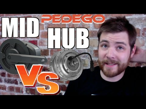 Pedego Mid Drive VS Hub Drive City Commuter Test Report