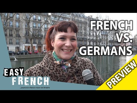 What French people think about Germans (Trailer) | Easy French 98 photo