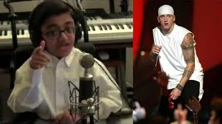 Eminem tweets his song 'Not Afraid' sung by 12-year-old singer