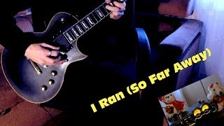 Bowling for Soup - I Ran (So Far Away) (A Flock Of Seagulls) - Guitar cover by Marteec!