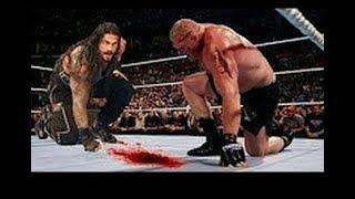 Roman Reigns Vs Brock Lesnar full bloody match width=