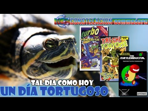 Un dia tortugoso: Tai Chi Tortoise (C64), Turbo Tortoise (C64), Turtleminator (Amiga)