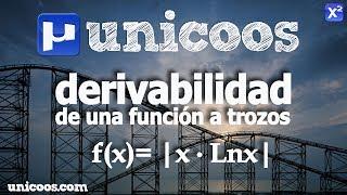 Imagen en miniatura para Continuidad y derivabilidad de |x.lnx|