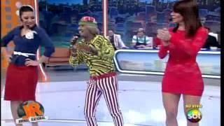tiririca cover-cantando a musica do leite ninho-programa do ratinho 27/05/2013