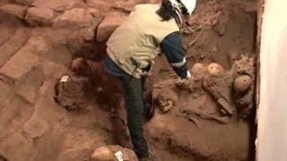 Makam Tersembunyi Dengan Puluhan Tengkorak di Peru