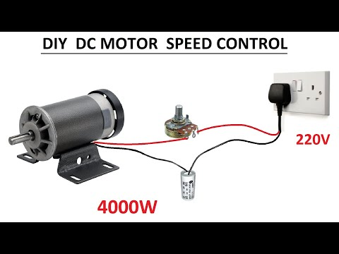 How to make 220V 4000W DC Motor Speed Controller ( RPM Control )