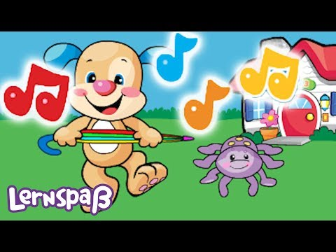 Itsy Bitsy die kleine Spinne | Lernspaß | Fisher-Price Deutsch | Kinderlieder | Cartoons für Kinder