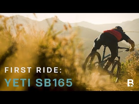 First Ride: Yeti SB165 - How Do Little Wheels and Big Travel Add Up""