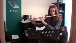 Ana Lúcia Martins Flauta Transversal Prof Diana Guardado Dance Of Little Swans Tchaikovsky Acomp Sv