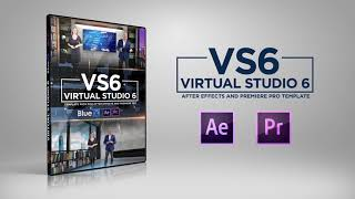 virtual news studio 6 for after effects