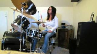 Eric Carmen  Hungry Eyes ~ Drum Cover by Denise
