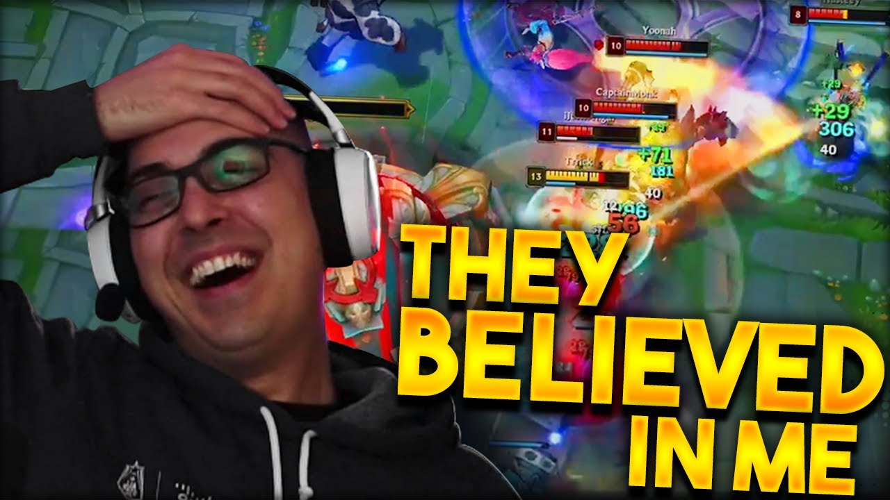 Trick2g - THEY BELIEVED IN ME SO I SMURFED 1v5!!!!! (RIOT GRAND PRIX) @Trick2G