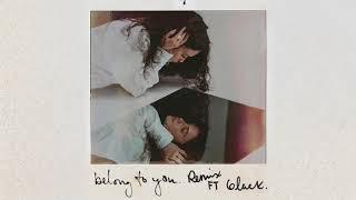 Sabrina Claudio -  Belong To You (ft. 6lack) [Remix]