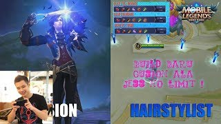 Skin Baru Gusion Elite Hairstylist Build Baru Jess No Limit