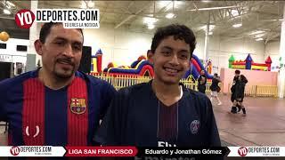 Niños ayudan al Barca en el liderato de la Liga San Francisco en Chicago
