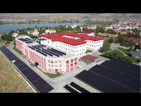Halk Enerji - Gazi Teknopark Güneş Enerjisi Santrali - Helikopter Çekimi.mp4