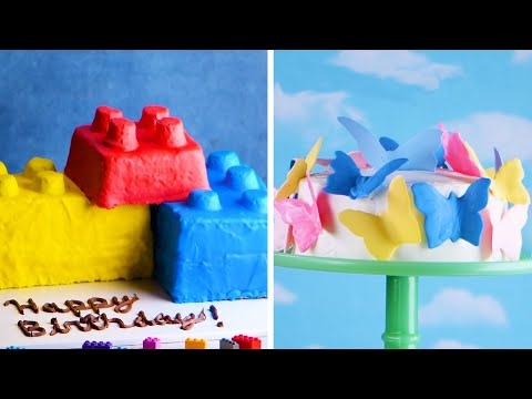 Play with Your Food! 7 Easy Cakes for Kids! ??? Delicious Cake Recipes by So Yummy