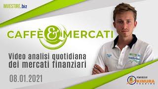 Caffè&Mercati - Raggiunto il primo supporto su EUR/USD