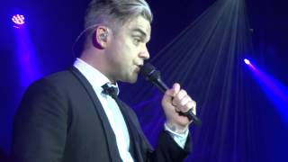ROBBIE WILLIAMS - Have Yourself A Merry Little Christmas - LONDON 10/12/2013