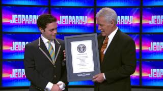 Jeopardy! |  Alex sets Guinness World Records